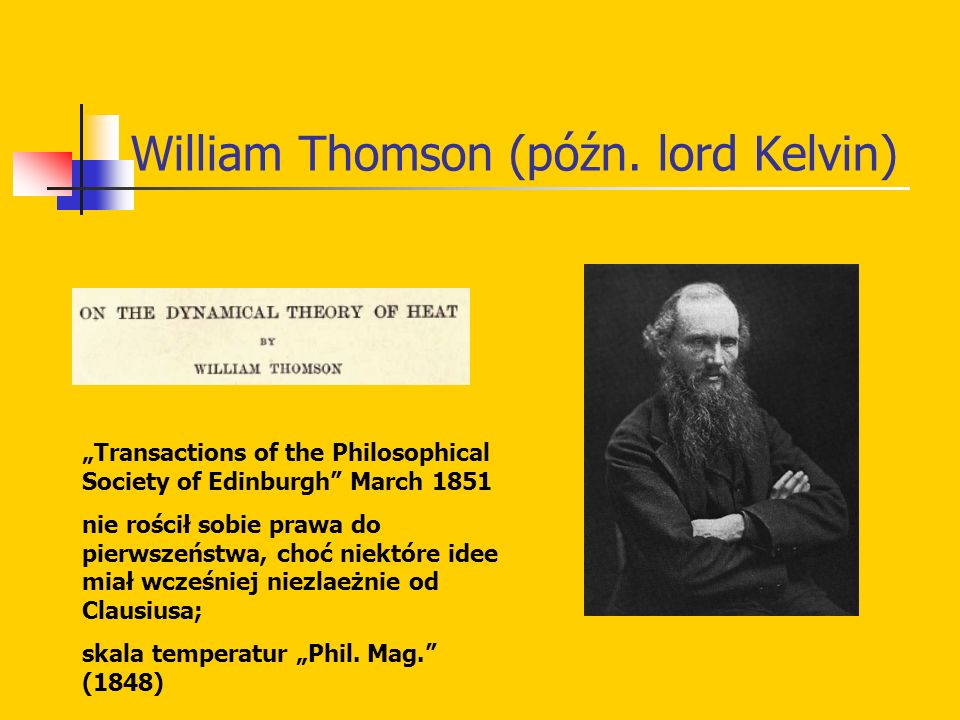 William Thomson (późn. lord Kelvin)