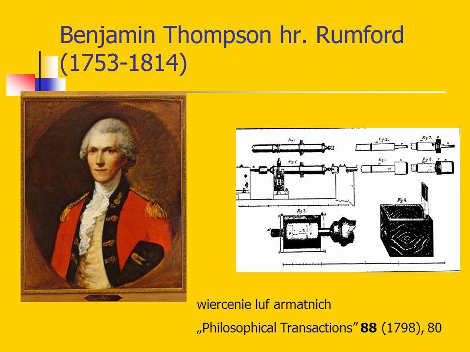 Benjamin Thompson hr. Rumford (1753-1814)