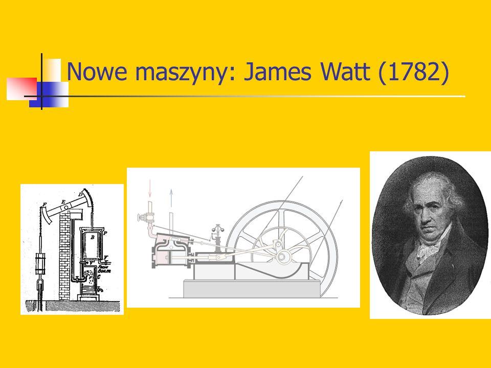 Nowe maszyny: James Watt (1782)