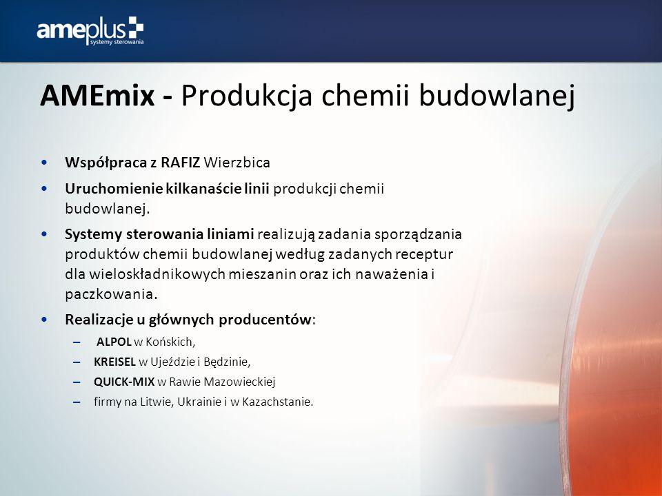 AMEmix - Produkcja chemii budowlanej