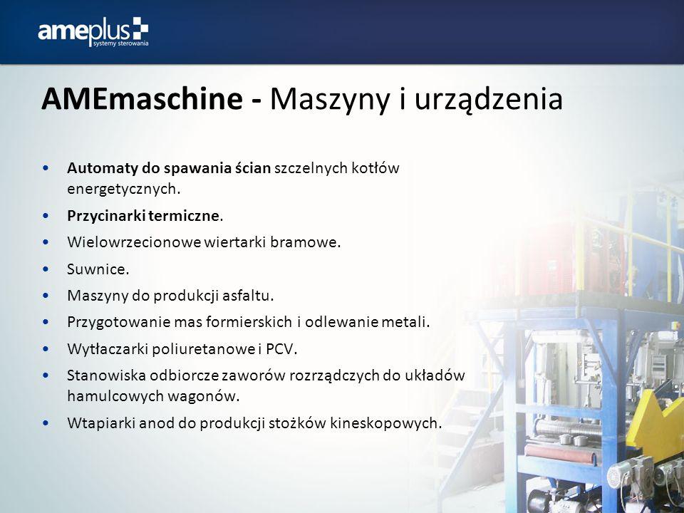 AMEmaschine - Maszyny i urządzenia