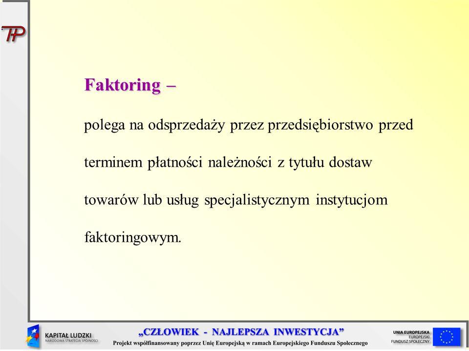 Faktoring –