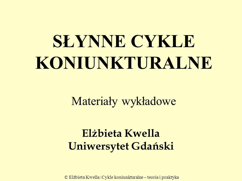 Elżbieta Kwella Uniwersytet Gdański