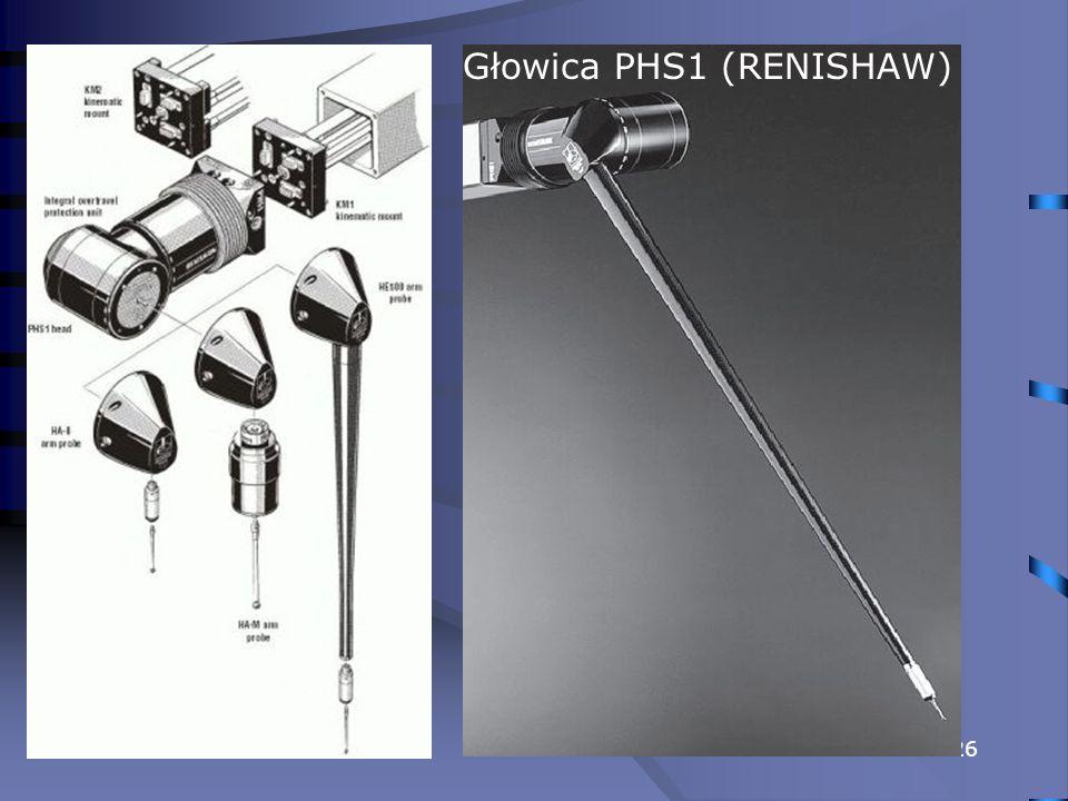 Głowica PHS1 (RENISHAW)