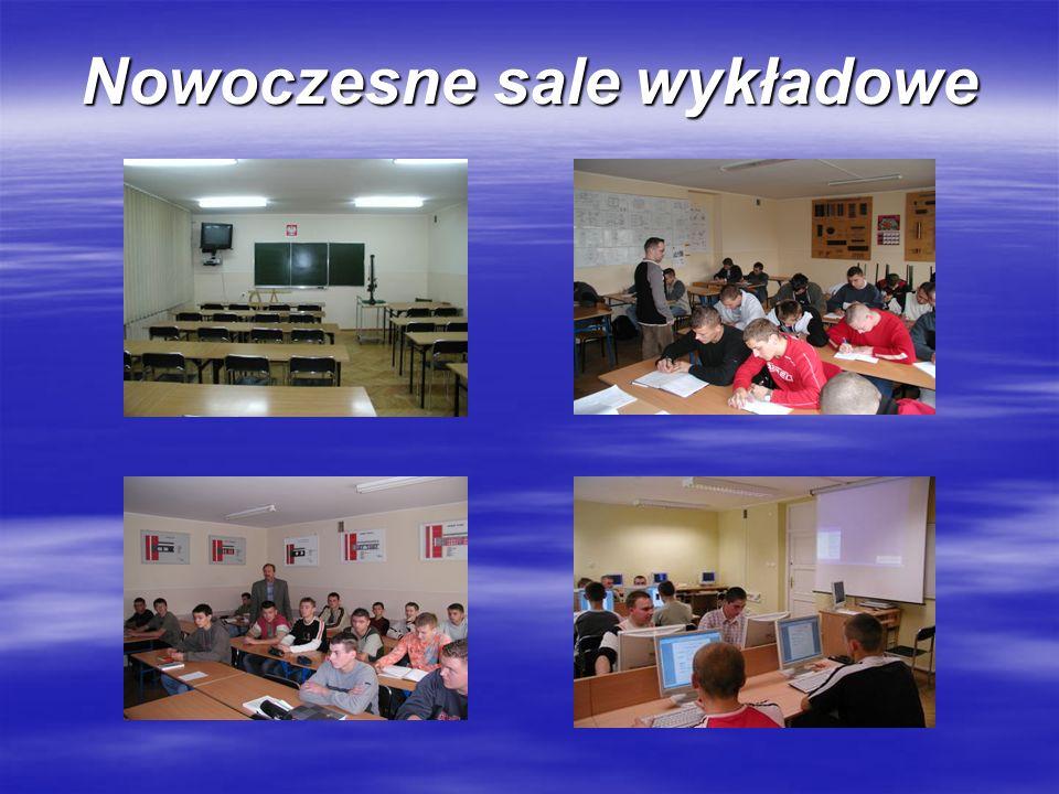 Nowoczesne sale wykładowe