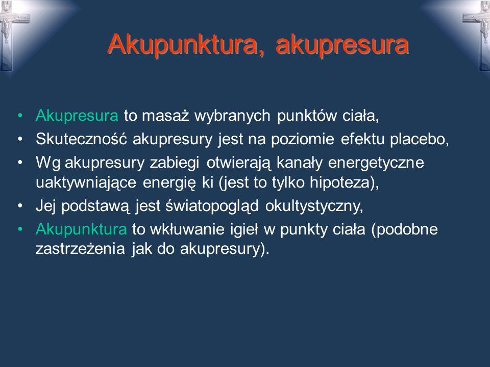 Akupunktura, akupresura