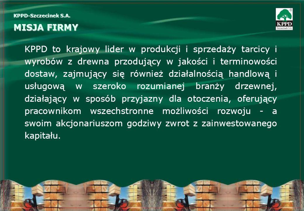 KPPD-Szczecinek S.A. MISJA FIRMY.