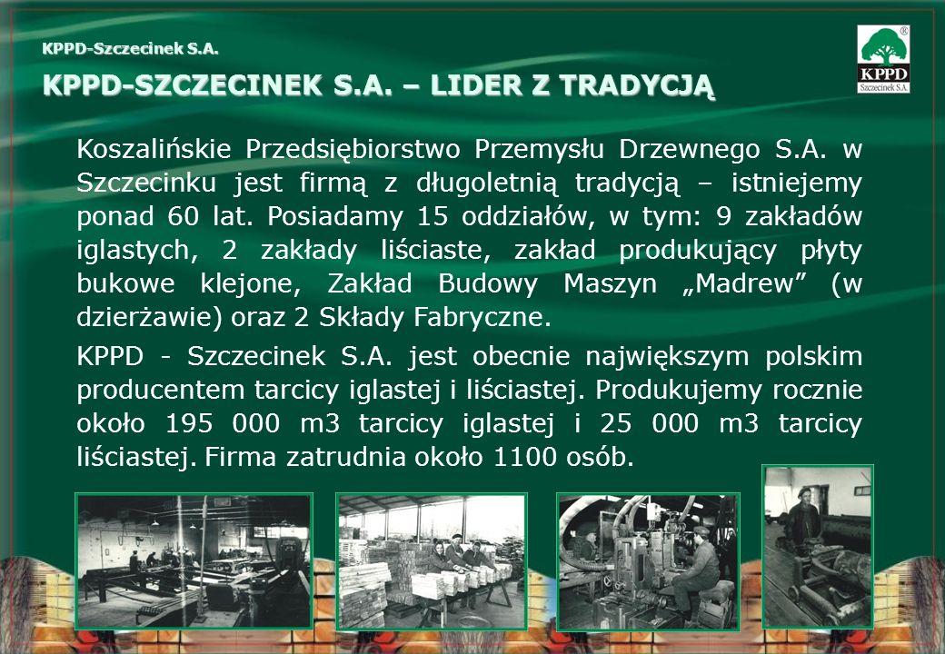 KPPD-SZCZECINEK S.A. – LIDER Z TRADYCJĄ