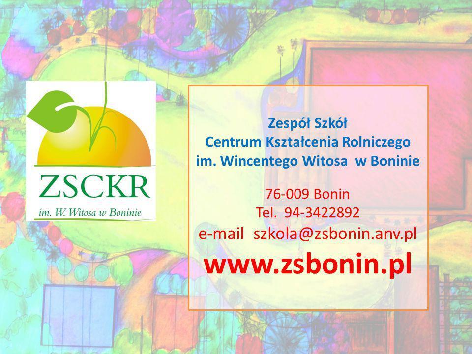 Centrum Kształcenia Rolniczego im. Wincentego Witosa w Boninie