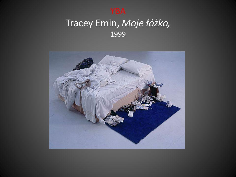 YBA Tracey Emin, Moje łóżko, 1999