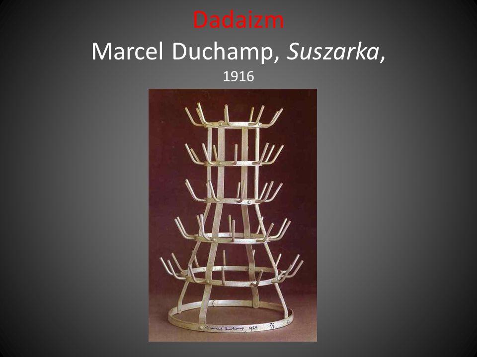 Dadaizm Marcel Duchamp, Suszarka, 1916