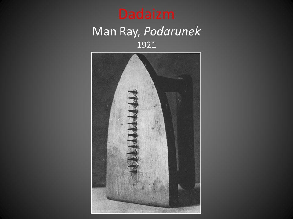Dadaizm Man Ray, Podarunek 1921