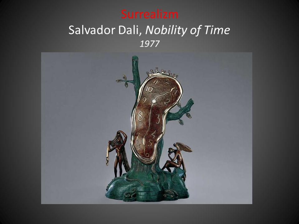 Surrealizm Salvador Dali, Nobility of Time 1977