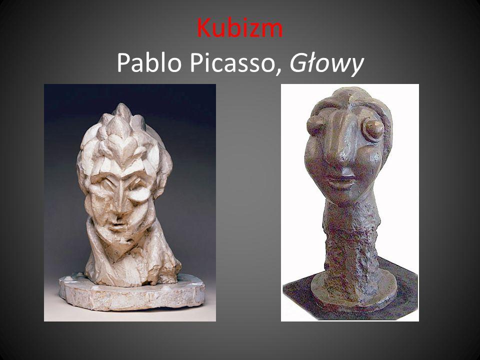 Kubizm Pablo Picasso, Głowy