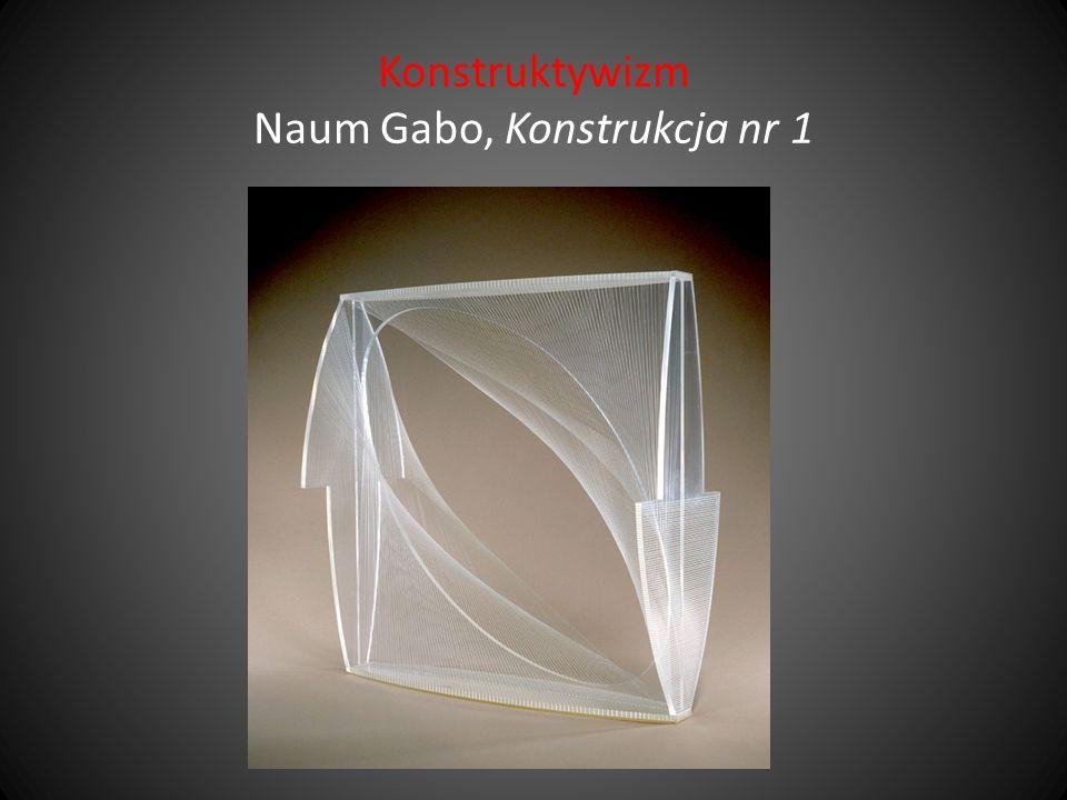 Konstruktywizm Naum Gabo, Konstrukcja nr 1
