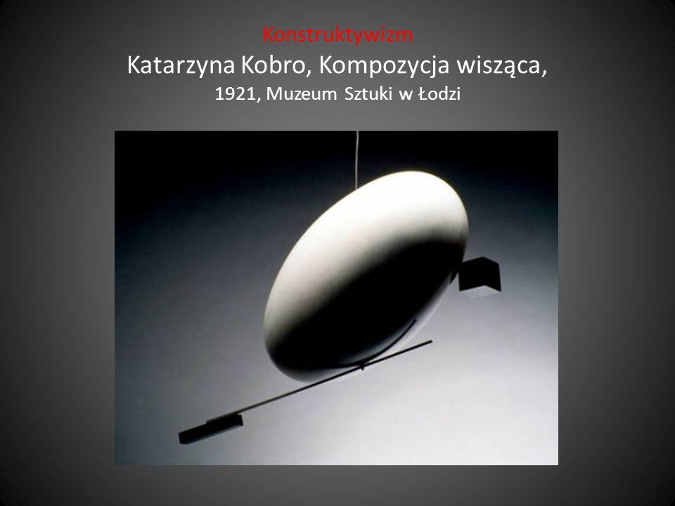Konstruktywizm Katarzyna Kobro, Kompozycja wisząca, 1921, Muzeum Sztuki w Łodzi