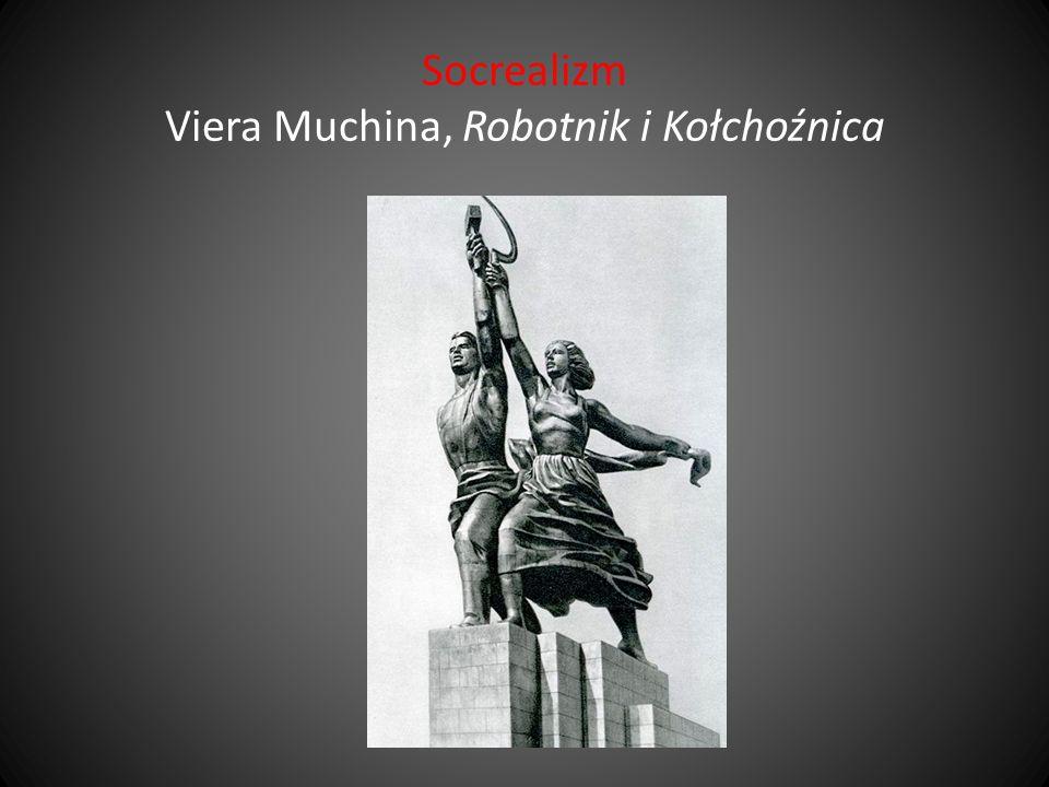 Socrealizm Viera Muchina, Robotnik i Kołchoźnica
