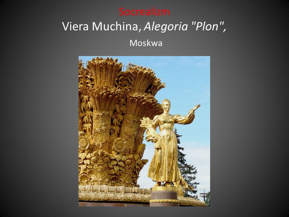Socrealizm Viera Muchina, Alegoria Plon , Moskwa