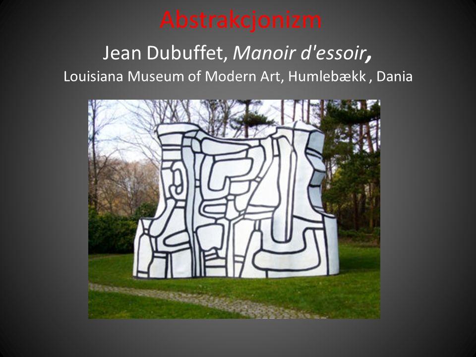 Abstrakcjonizm Jean Dubuffet, Manoir d essoir, Louisiana Museum of Modern Art, Humlebækk , Dania