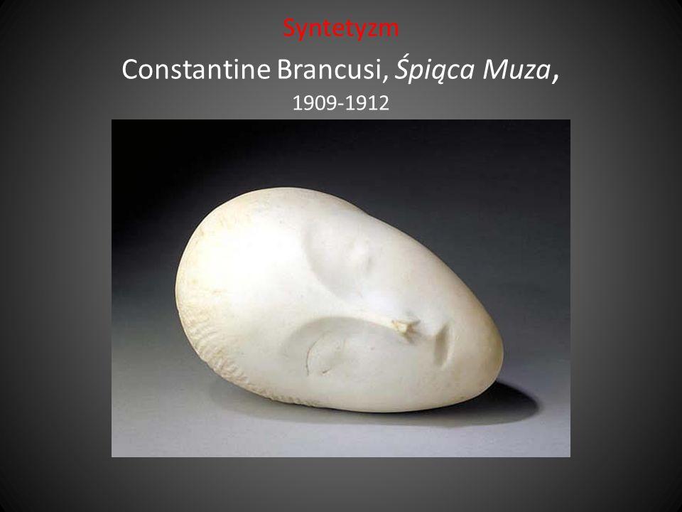 Syntetyzm Constantine Brancusi, Śpiąca Muza, 1909-1912