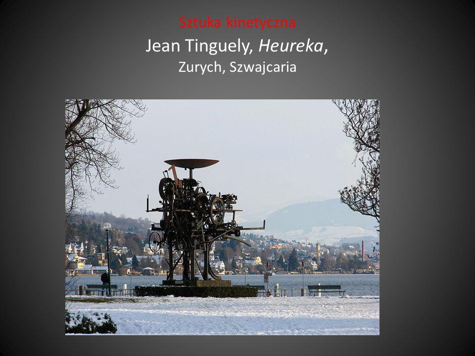 Sztuka kinetyczna Jean Tinguely, Heureka, Zurych, Szwajcaria