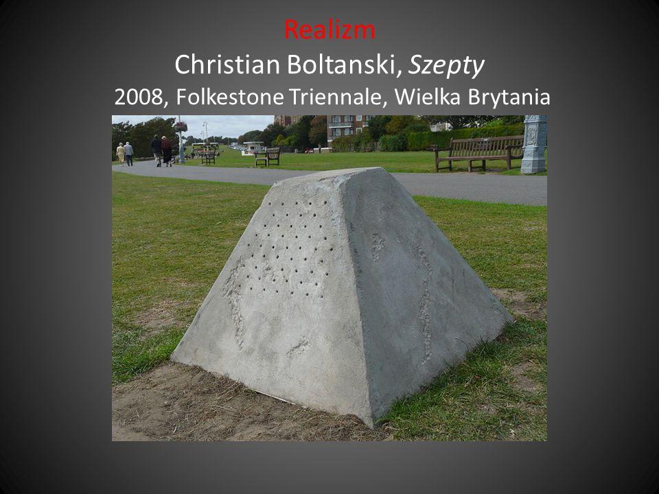 Realizm Christian Boltanski, Szepty 2008, Folkestone Triennale, Wielka Brytania