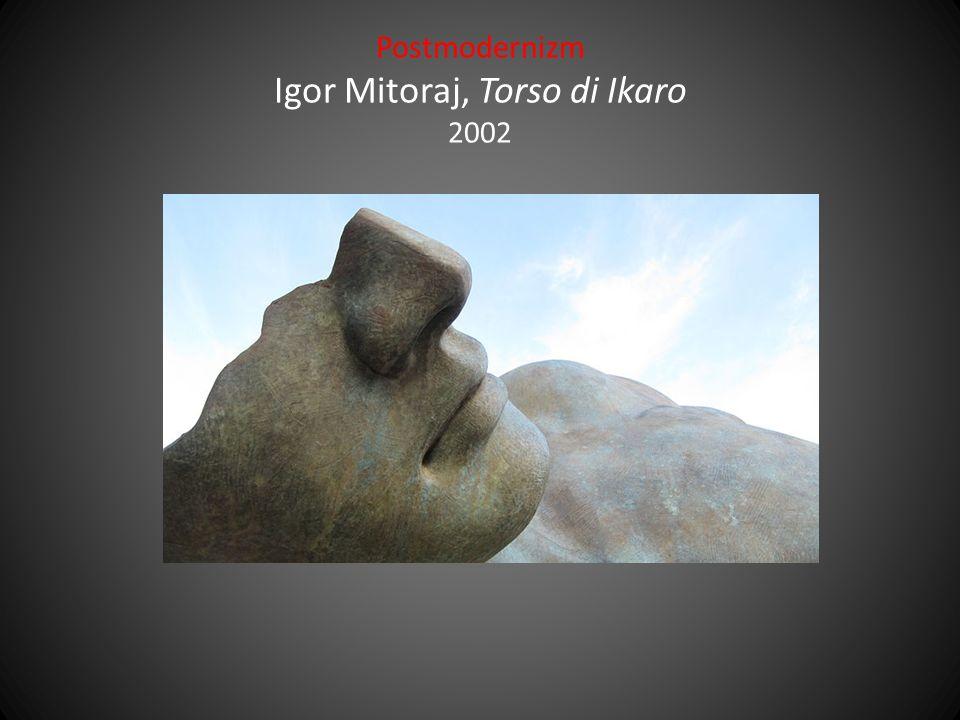 Postmodernizm Igor Mitoraj, Torso di Ikaro 2002