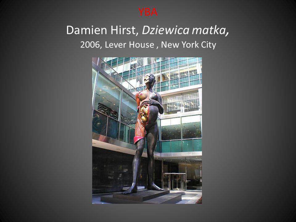 YBA Damien Hirst, Dziewica matka, 2006, Lever House , New York City