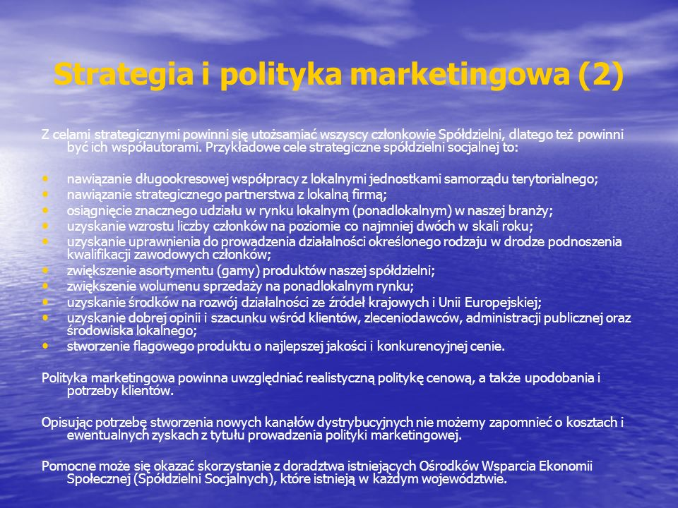 Strategia i polityka marketingowa (2)
