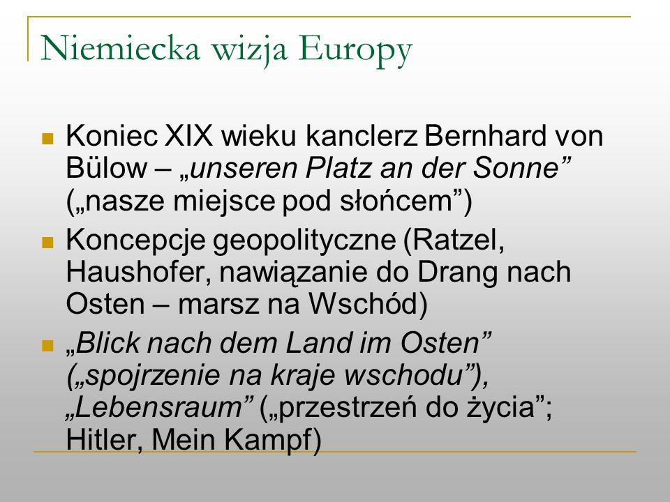 Niemiecka wizja Europy