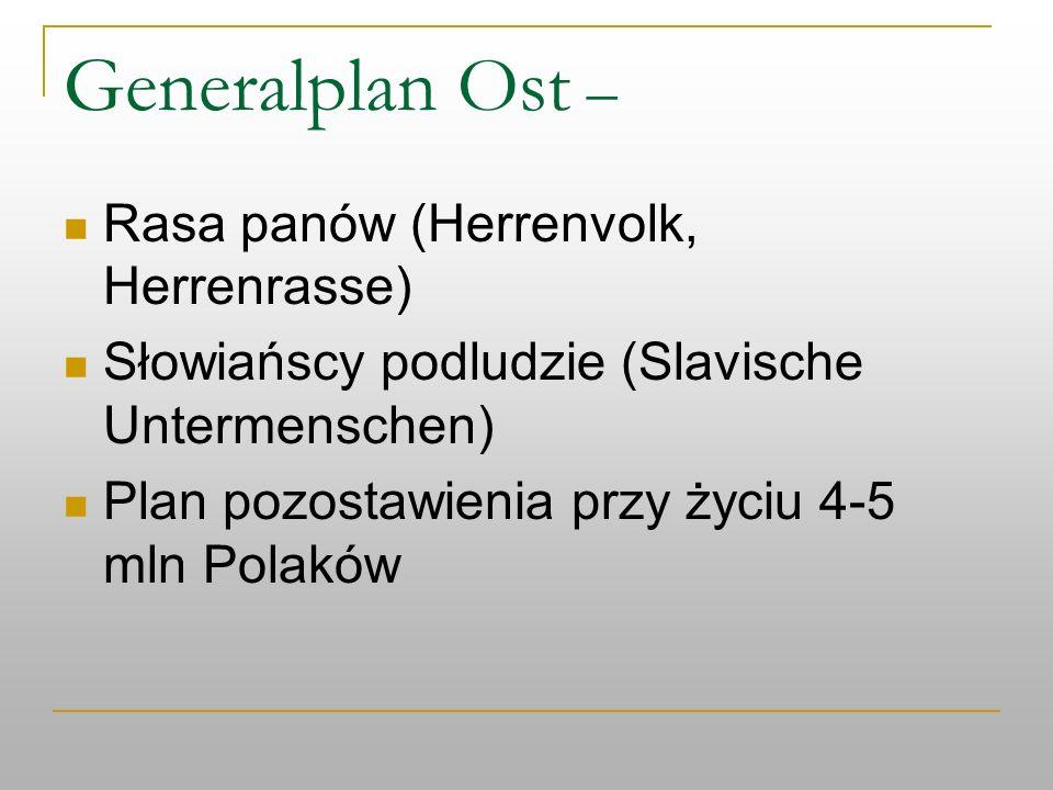 Generalplan Ost – Rasa panów (Herrenvolk, Herrenrasse)