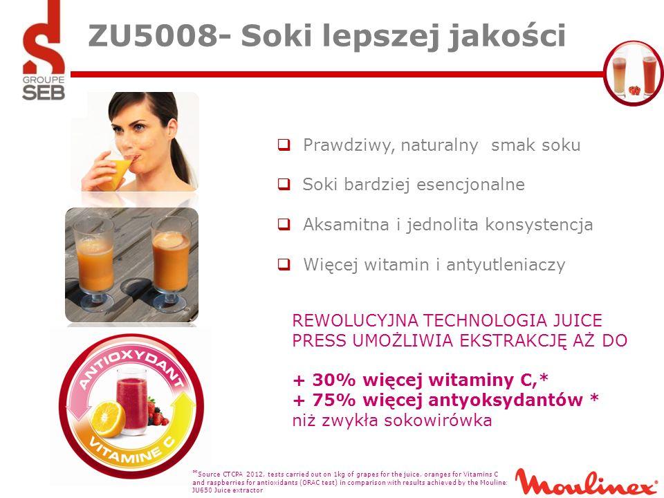 ZU5008- Soki lepszej jakości
