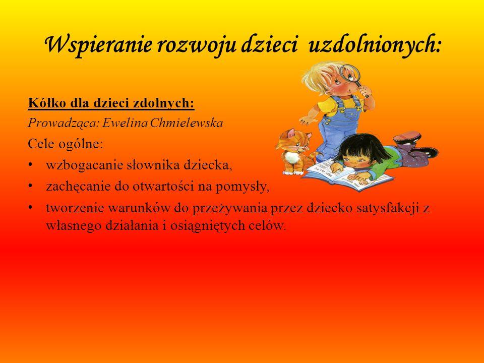 Wspieranie rozwoju dzieci uzdolnionych: