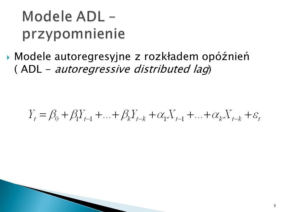 Modele ADL – przypomnienie