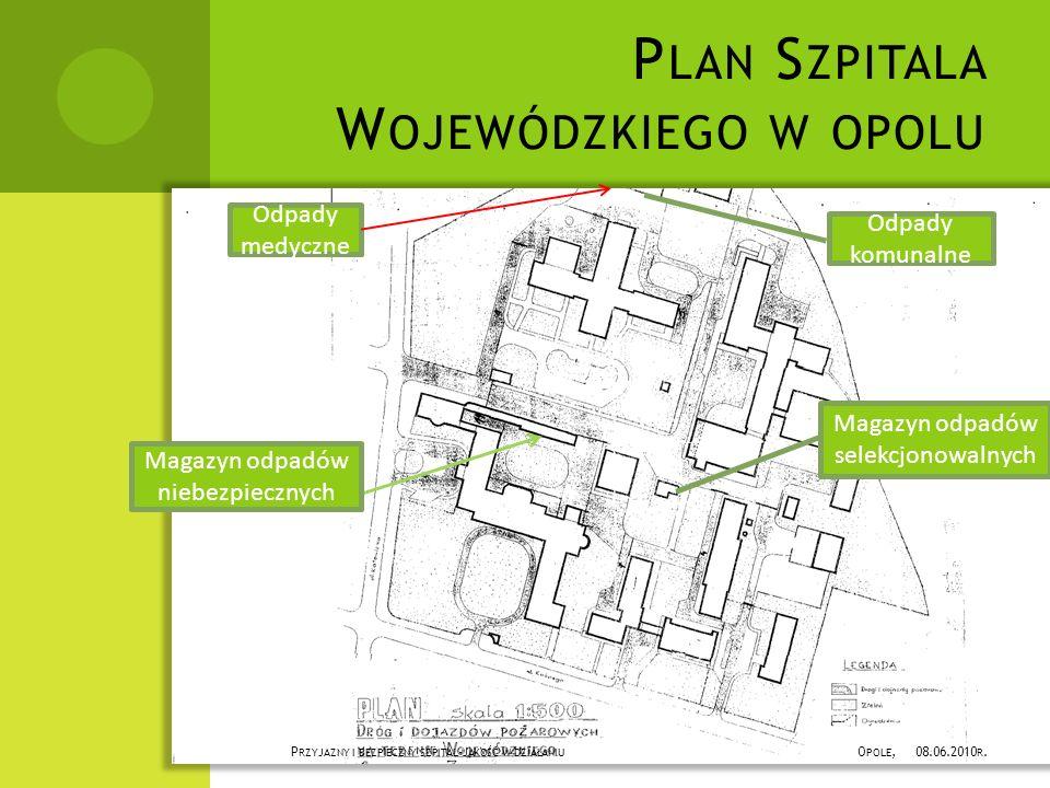 Plan Szpitala Wojewódzkiego w opolu