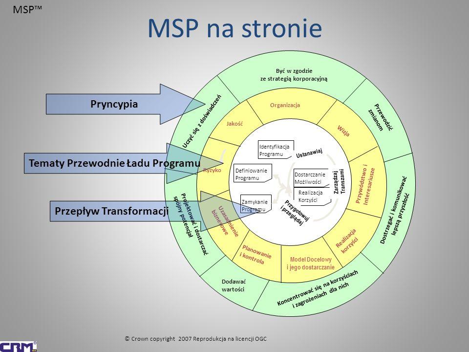 Klucze do sukcesu w zarządzaniu – Zarządzanie programami - MSPTM