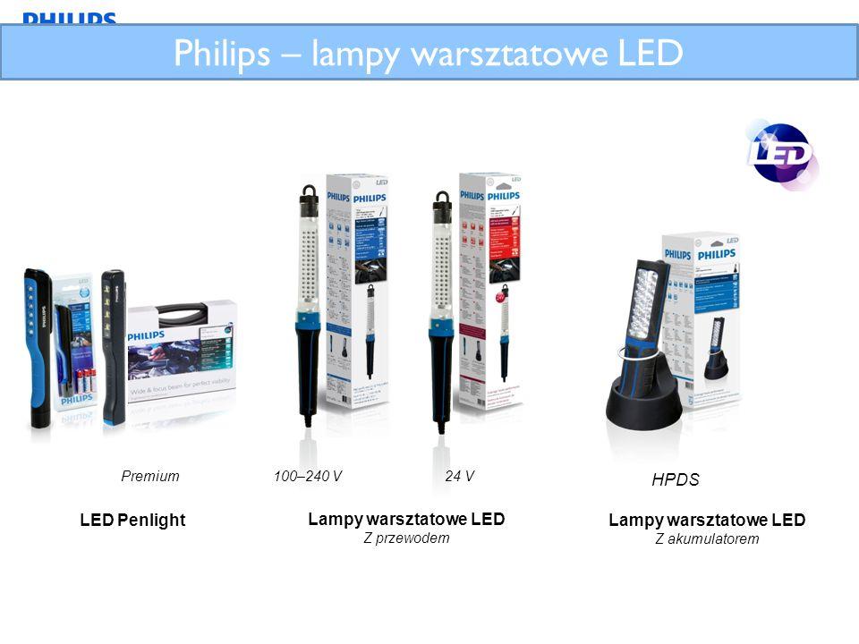 Philips – lampy warsztatowe LED
