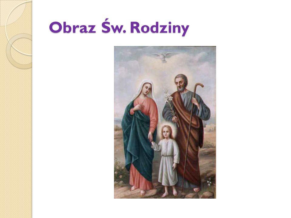 Obraz Św. Rodziny