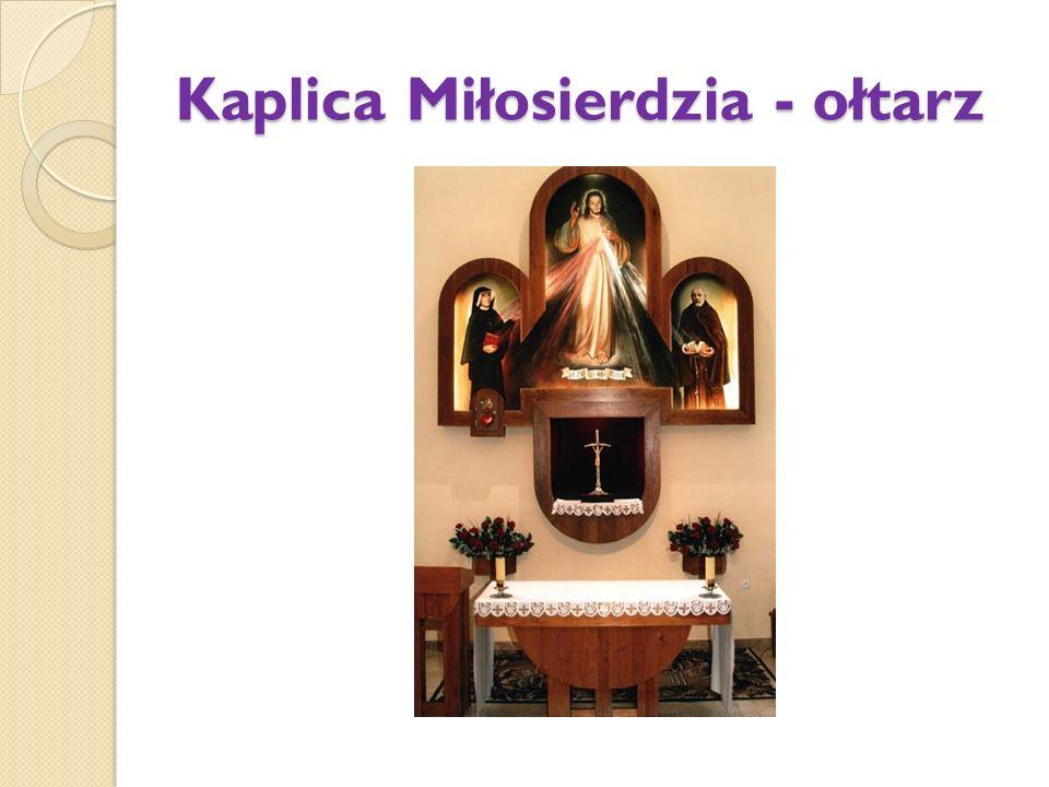 Kaplica Miłosierdzia - ołtarz