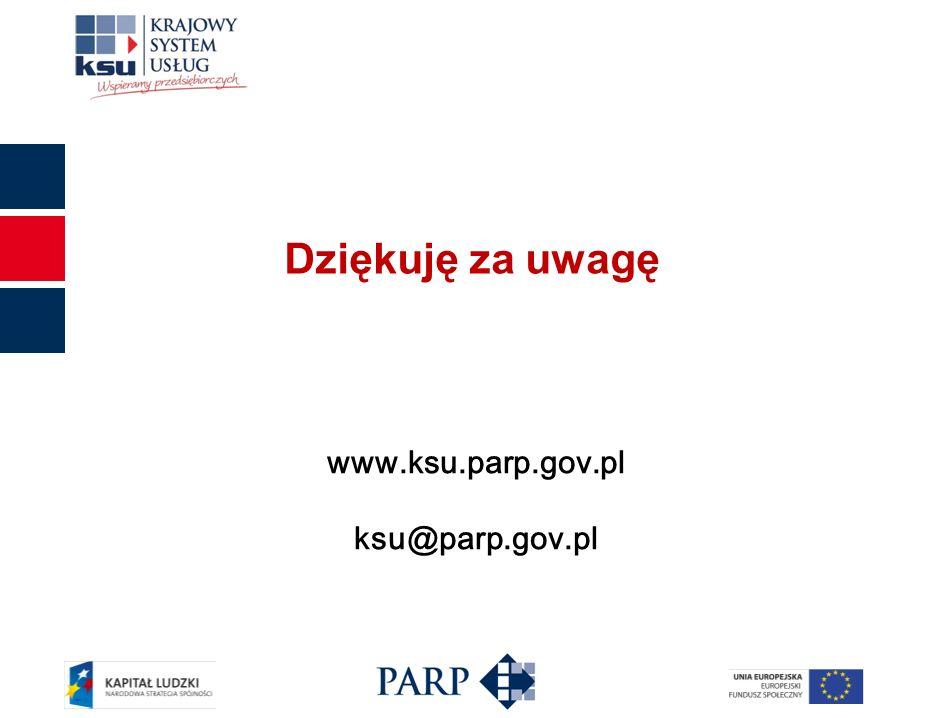 www.ksu.parp.gov.pl ksu@parp.gov.pl