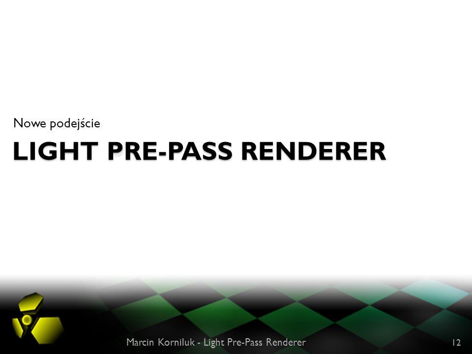 Light Pre-Pass Renderer