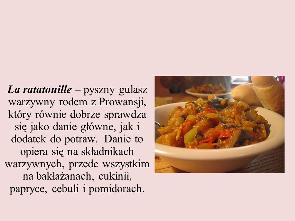 La ratatouille – pyszny gulasz warzywny rodem z Prowansji, który równie dobrze sprawdza się jako danie główne, jak i dodatek do potraw.