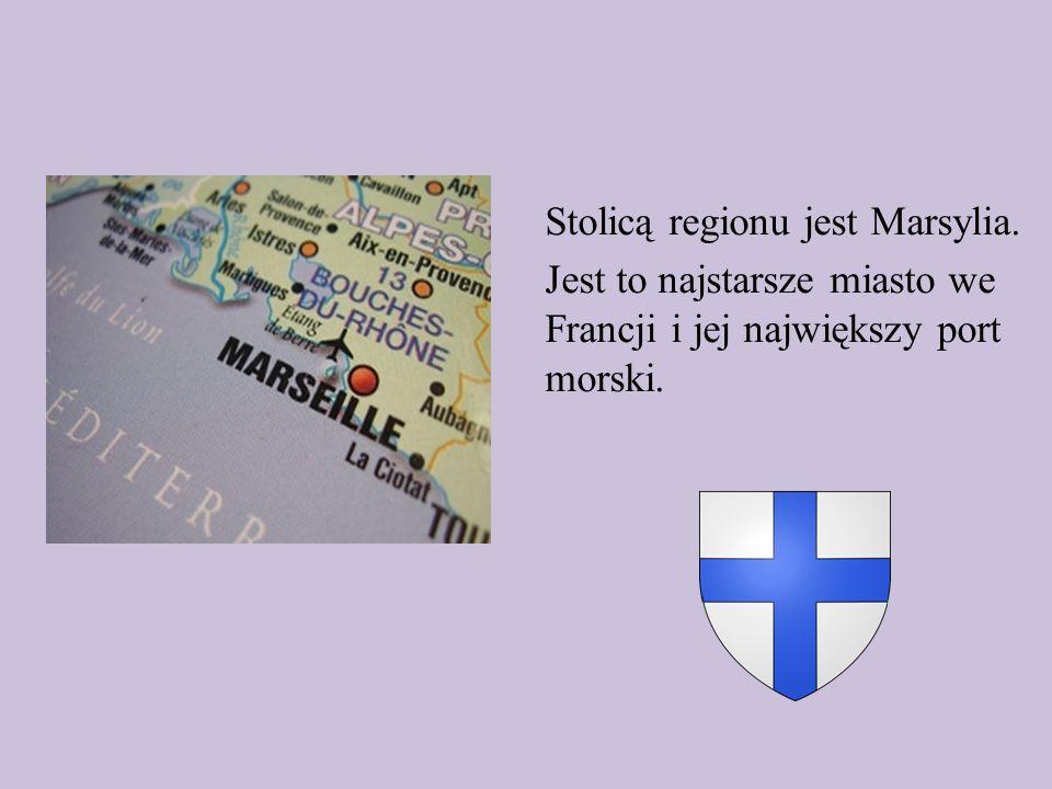 Stolicą regionu jest Marsylia
