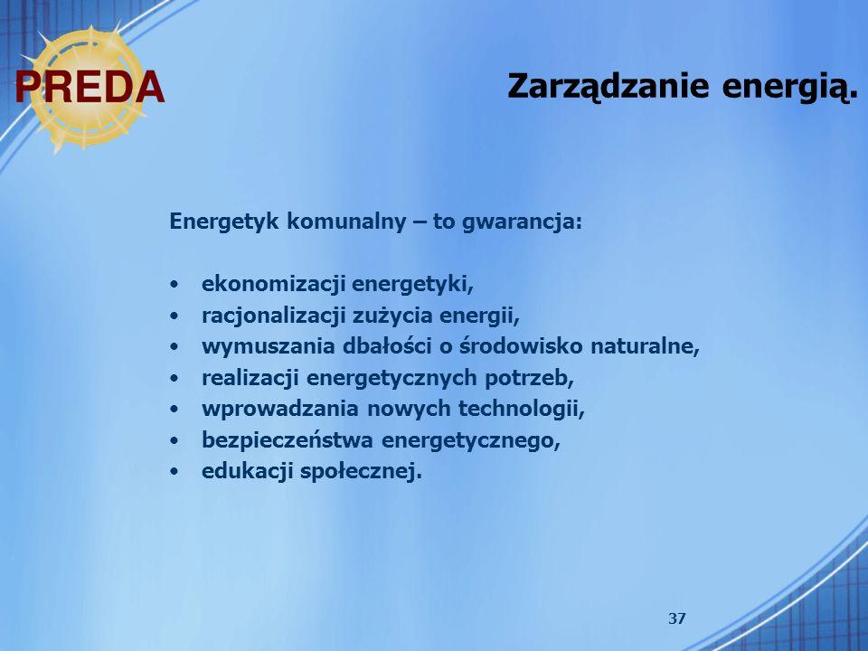 Zarządzanie energią. Energetyk komunalny – to gwarancja: