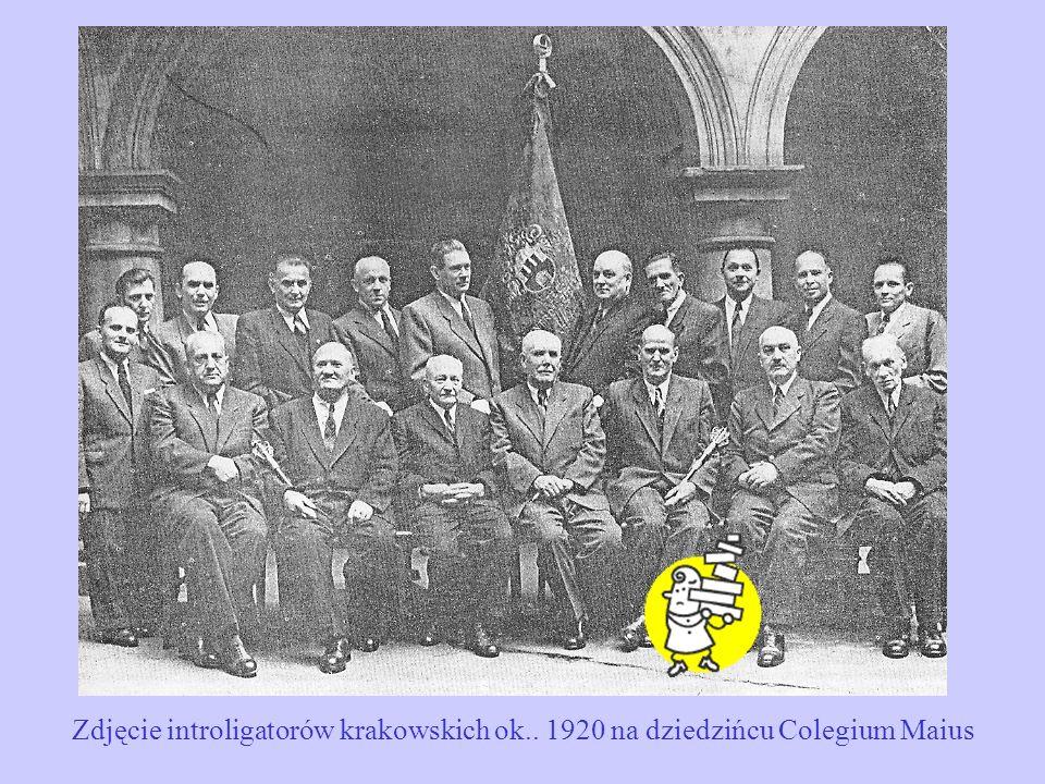 Zdjęcie introligatorów krakowskich ok