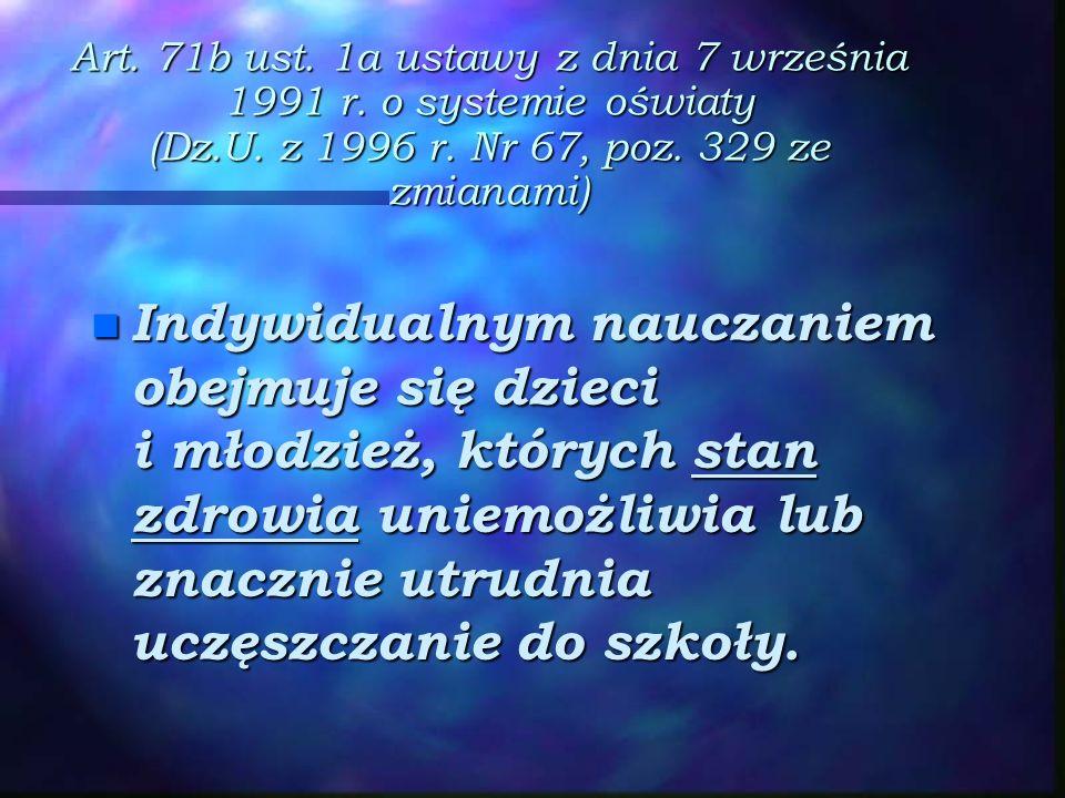 Art. 71b ust. 1a ustawy z dnia 7 września 1991 r