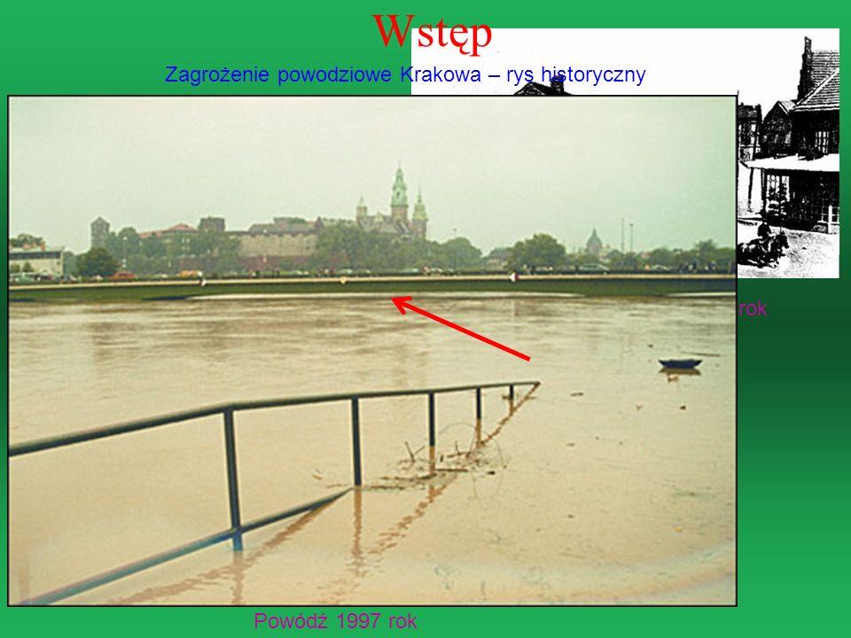 Wstęp Zagrożenie powodziowe Krakowa – rys historyczny