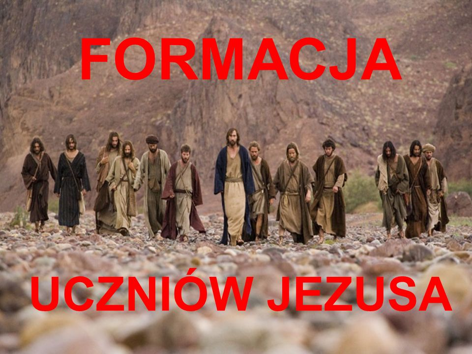 FORMACJA DZIĘKUJĘ ZA UWAGĘ UCZNIÓW JEZUSA