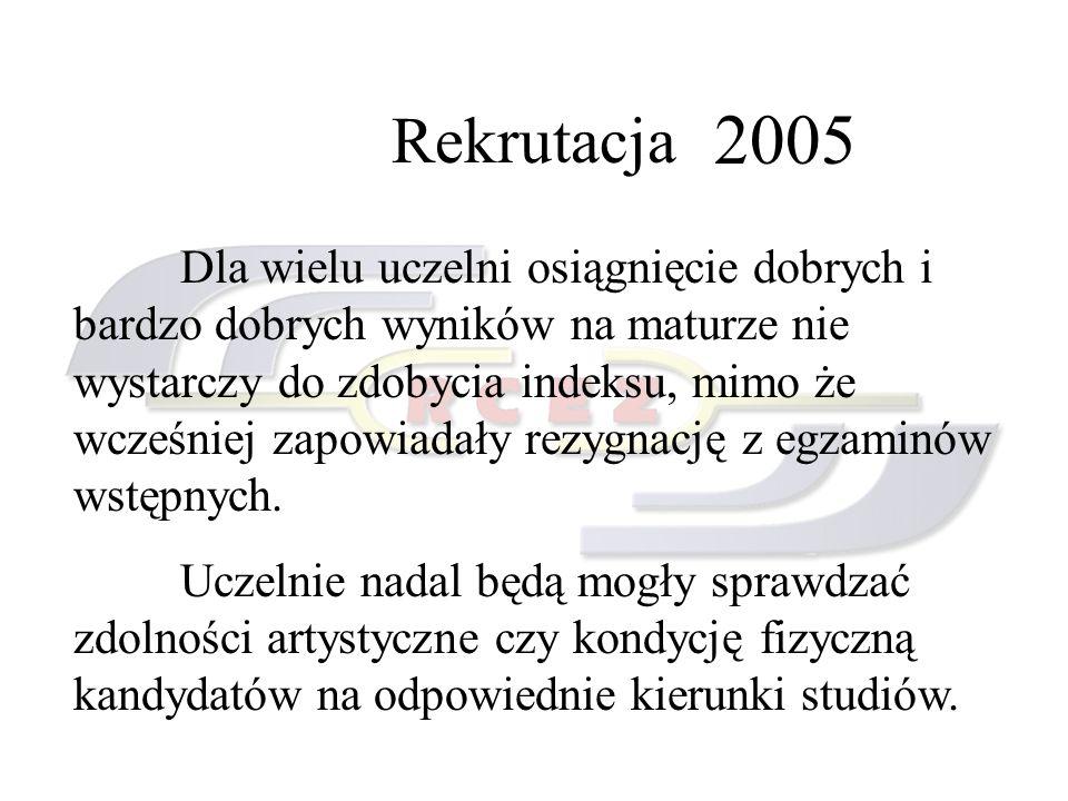 Rekrutacja 2005.