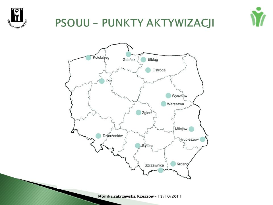 PSOUU – PUNKTY AKTYWIZACJI Monika Zakrzewska, Rzeszów – 13/10/2011